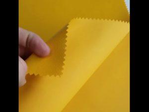 Tecido 100% da mochila da laminaço do PVC de oxford do material do poliéster
