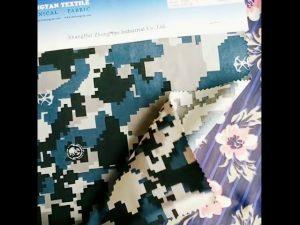 Tela de camuflagem resistente à água de nylon 1000D cordura