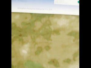 1000D nylon oxford camuflagem resistente à água PU tecido revestido