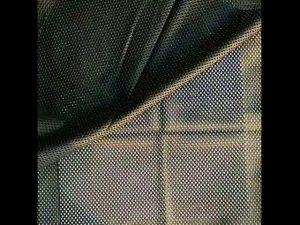 Tela de malha da rede da malha do urdidura do poliéster 160gsm para a veste militar