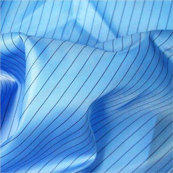 5mm-listra-sarja-poliéster-tecido anti-estático-tecido
