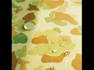 China fábrica 1000 denier cordura impresso tecido de nylon com repelente de água