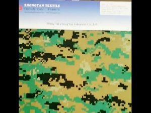 Camuflagem da floresta digital impresso nylon 1000d cordura semelhante à prova d 'água tecido oxford