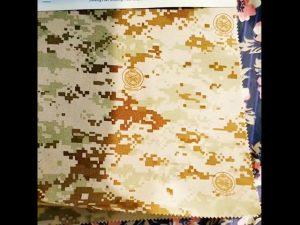 O trabalho de oxford de nylon impermeável revestido PU da função reforça a tela