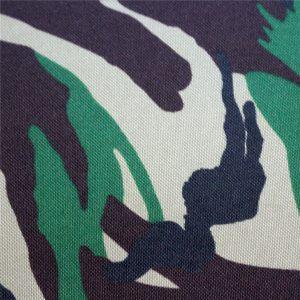tecidos de oxford: poliéster 600d, 300 g / m2, impressão em camuflagem simples