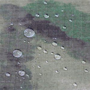 Tecido de algodão militar antiestático de Ripstop da impressão para o vestuário do exército