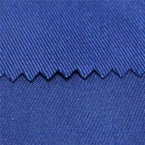 Tc poliéster de algodão liso e sarja ativo tingido e impressão digital retardante de chamas workwear tecido de popeline tecido uniforme