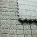 Tecido de lã de poliéster / tecido respirável de poliéster super durável para fatos de treino