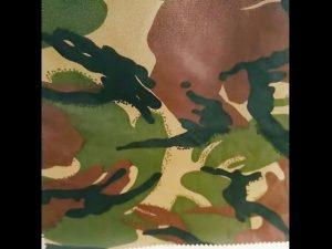 Camuflagem impresso à prova d 'água ripstop nylon oxford uniform military fabric