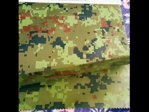fabricante china atacado camuflagem em relevo tecido geotêxtil rainwear para tecido ao ar livre