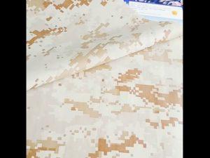 boa qualidade padrão de camuflagem 100% tecido de nylon uso militar de segurança